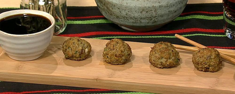 Asian-Style Turkey Meatballs