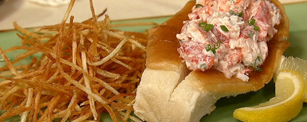 Lobster Rolls & Shoestring Fries