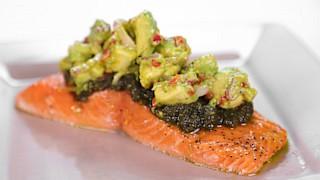 Michael Symon\'s Slow-Roasted Salmon