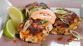 Baltimore Grilled Crab Cakes
