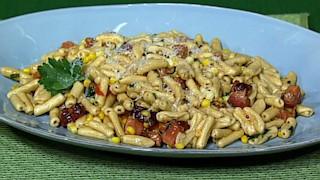 Bacon and Corn Cavatelli