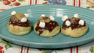 S\'more Cream Puffs