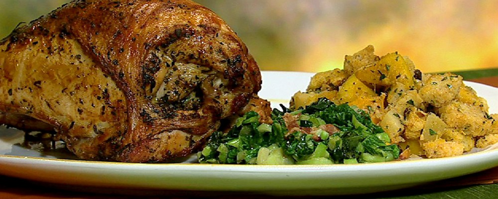 Marcus Samuelsson\'s Herb-Roasted Turkey Breast