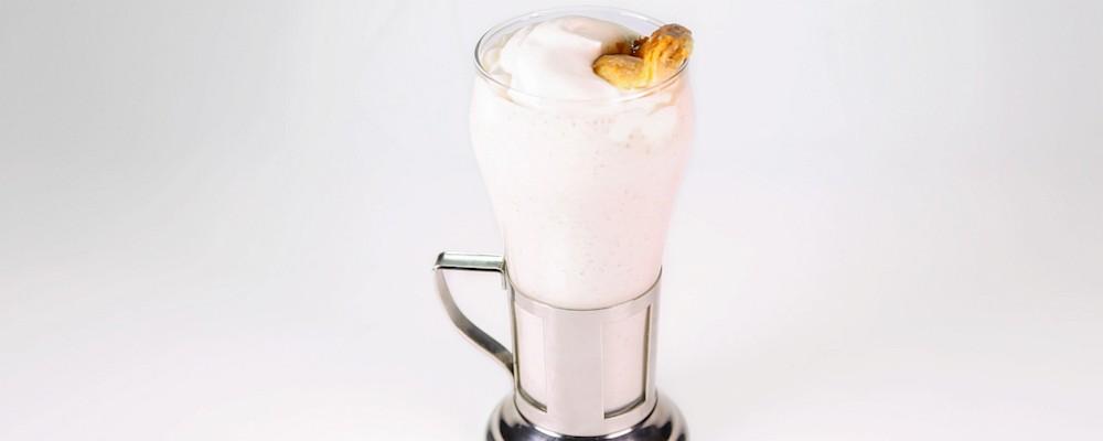 Apple Bourbon Milkshake