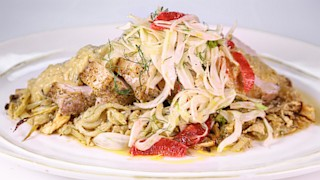 Arista Toscana with Blood Orange Salad