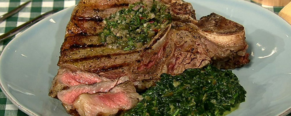 Michael Symon\'s Creamed Spinach