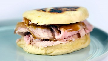 Quick Ham with Honey Mustard
