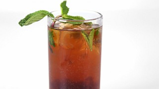 American Hustle Hooch AKA Winter Cherry Mojito by Clinton Kelly