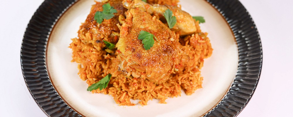 Arroz con Pollo Recipe by Mario Batali - The Chew