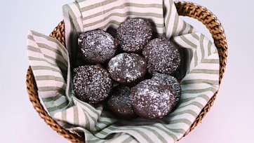 Sweet Potato Brownie Bites