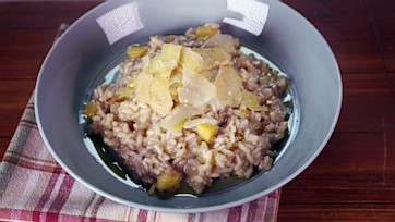 Acorn Squash and Sage Risotto