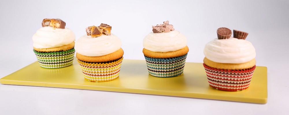 Candy Surprise Cupcake