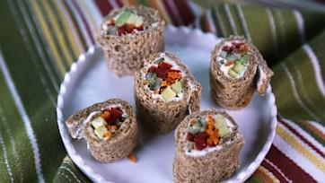 Sandwich Sushi Rolls