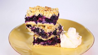 Blueberry Pucker Bars