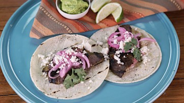 Steak Tacos with Chimichuri