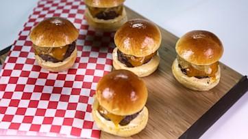 Baked Beef Sliders