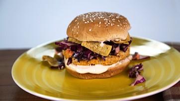 Buffalo Chicken Burger