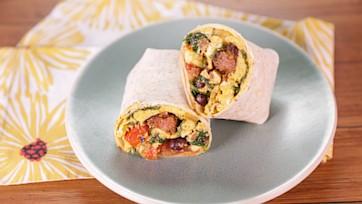 Monday Morning Breakfast Burrito