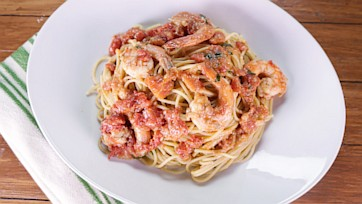Shrimp Bolognese