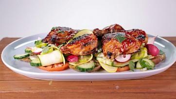BBQ Chicken Summer Salad