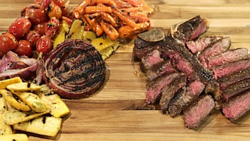 Cast Iron T-Bone Steak