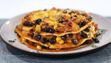 Tostada Enchilada Stacker