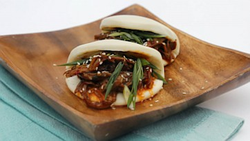 Peking Duck Steamed Buns