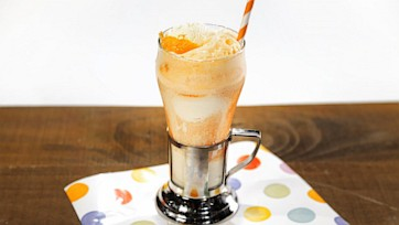 "Blood Orange ""I-Scream"" Float"