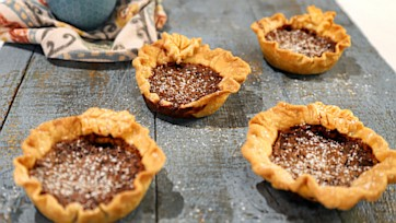 Mini Chocolate Chess Pies