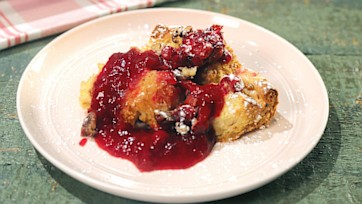 Orange-Cranberry Bread Pudding