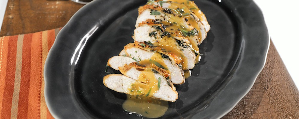 Herb Roasted Turkey Breast Recipe by Michael Symon - The Chew