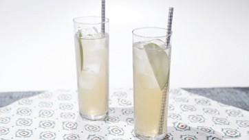 Apple-Ginger Rum Fizz