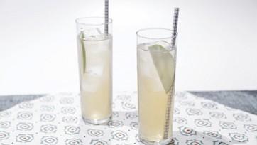 Apple-Ginger Rum Fizz