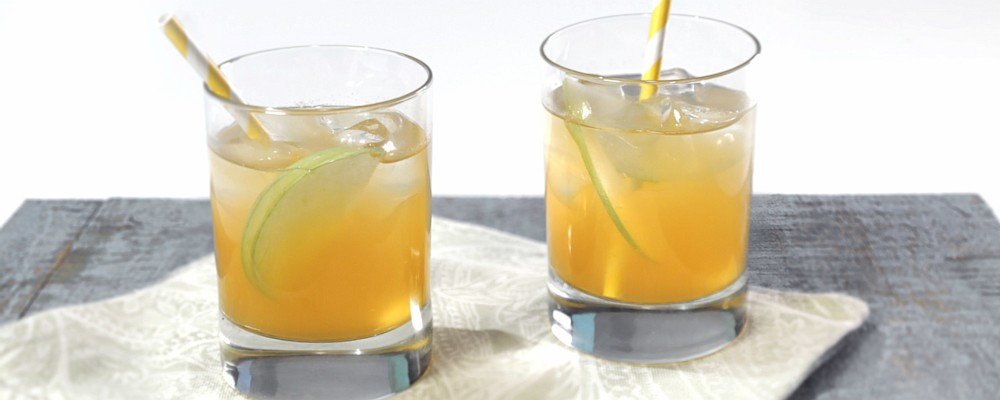 Spiced Apple-Ginger Fizz Mocktail Recipe by Carla Hall - The Chew