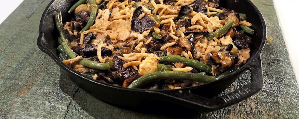 bean soup green bean and mushroom poutine recipes dishmaps green bean ...
