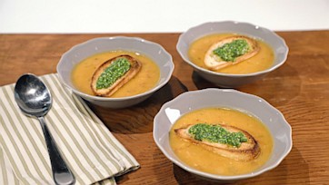 White Bean Sweet Potato Soup