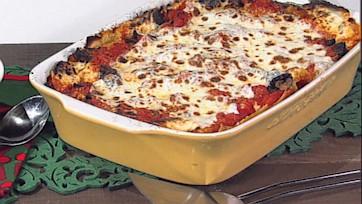 Roasted Wild Mushroom Lasagna