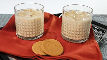Holiday Bourbon Eggnog