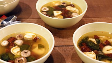 Warm Up The Soul Tortellini Soup
