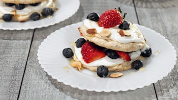Toasted Almond Meringues
