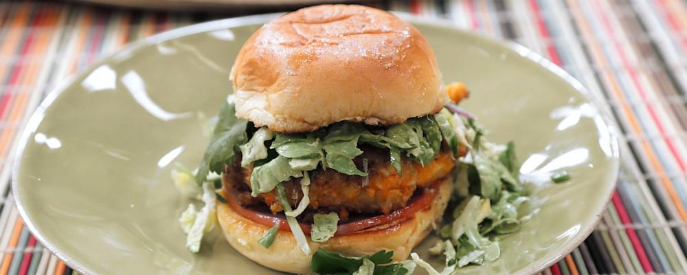 Cheese Puff Chicken Sliders Recipe by Mario Batali and Carla Hall ...