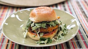 Cheese Puff Chicken Sliders