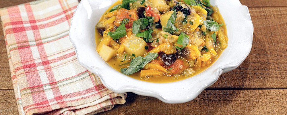Italian Vegetable Stew Recipe by Mario Batali - The Chew