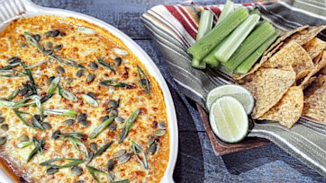 Lightened-Up Queso Fundido