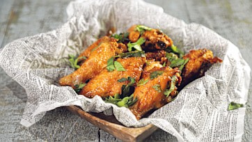Creole Spice Wings