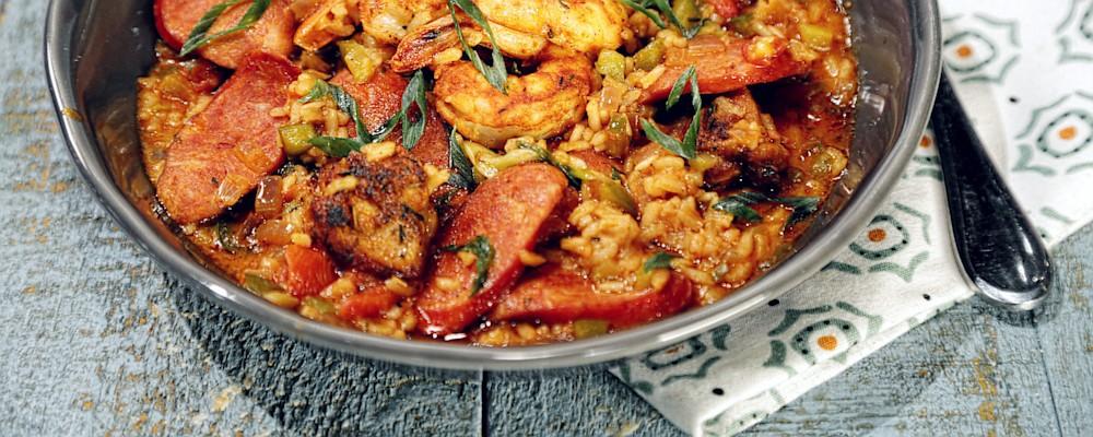jambalaya easy cajun jambalaya recipe yummly easy cajun jambalaya easy ...