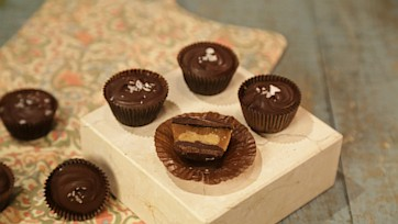 Peanut Butter Toffee Cups