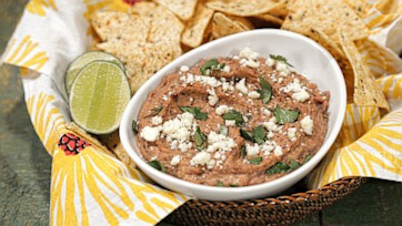 Smoky Black Bean Dip