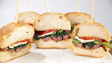 Grilled Skirt Steak Sub