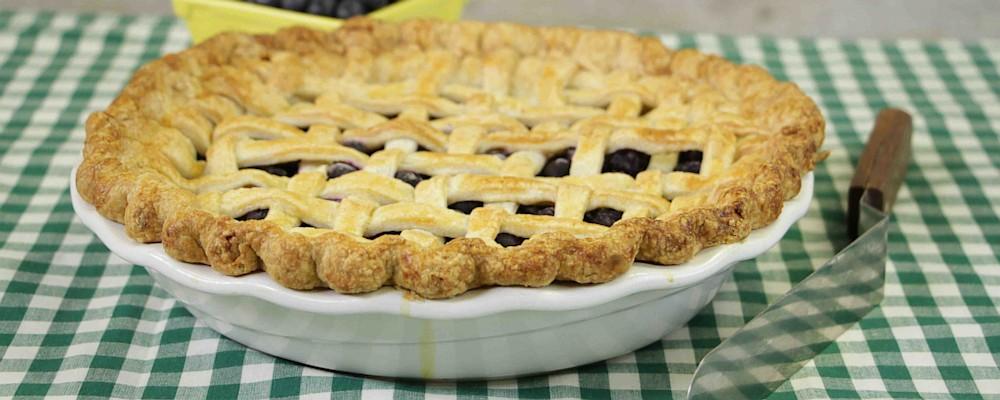 Hundred Blueberry Pie